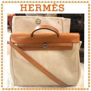 Authentic Hermès Herbag bag